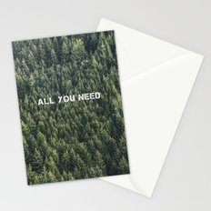 all you need Stationery Cards