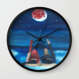 Dreams by Lu Wall Clock