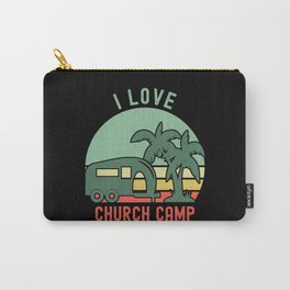 I Love Church Camp Carry-All Pouch