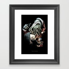 For Cthulhu Framed Art Print
