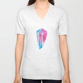 Cristal Aquarelle Unisex V-Neck