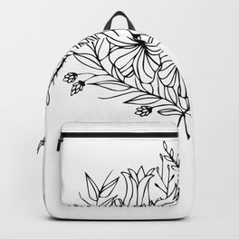 Botanical Symmetry 2 Backpack
