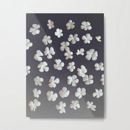 White petals3 Metal Print