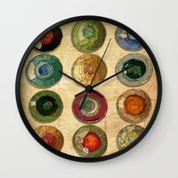 atlas Wall Clocks featuring ATLAS by d.ts