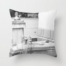 grave Throw Pillow
