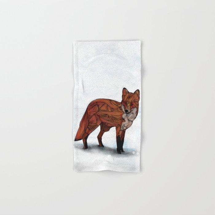 Red Fox Hand & Bath Towel