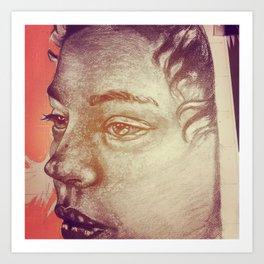 Pencil WIP Art Print
