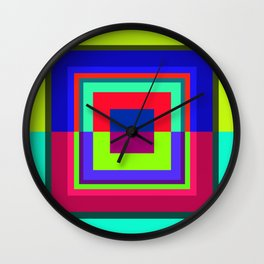 geometric 1 Wall Clock