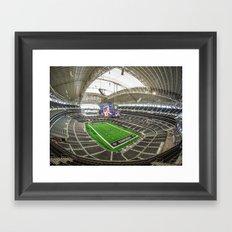 AT&T Stadium Framed Art Print