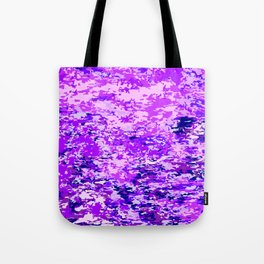 Purple Flames Background Tote Bag