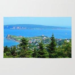 Bonaventure Island panoramic Rug