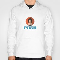 spice girls Hoodies featuring POSH SPICE by Chilli Cactus