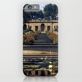 Meridian Hill Park 1963 iPhone Case