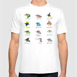 Montane Birds Series 1 T-shirt