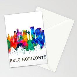 Belo Horizonte Brazil Skyline Stationery Cards