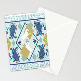 Paisley and Horse Stationery Cards