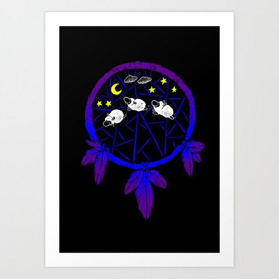 The Dreamcatcher Art Print