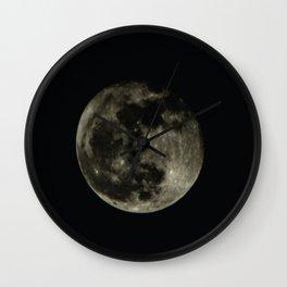 Moon2 Wall Clock