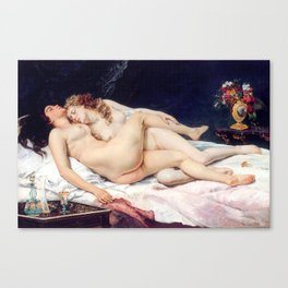 NUDE ART : The Lovers Canvas Print