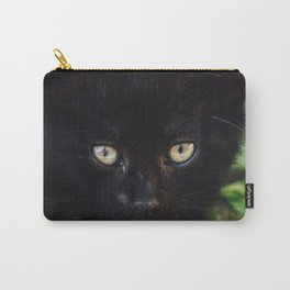 Black Kitten Carry-All Pouch