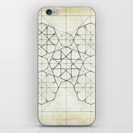 Geometry Sketch Nine iPhone Skin