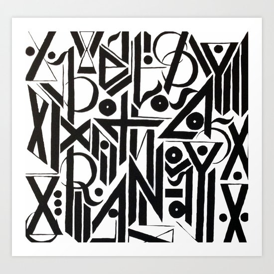 pupil Art Print
