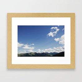 The Great Range Framed Art Print