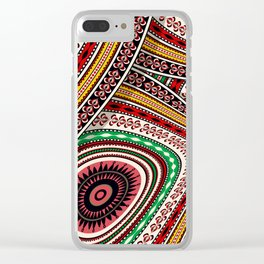 Tribal adventure Clear iPhone Case