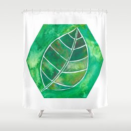 4 elements: Earth Shower Curtain