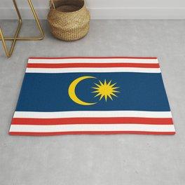 flag of Kuala Lumpur, Malaysia Rug