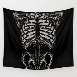 Skeleton #1 Wall Tapestry