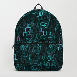 Binary Data Cloud Backpack