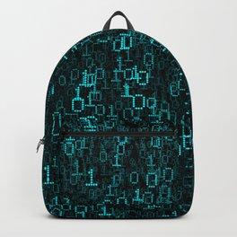 Binary Data Cloud Backpack