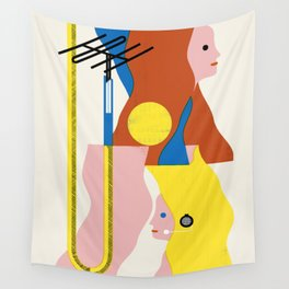 SPACE DAMES Wall Tapestry