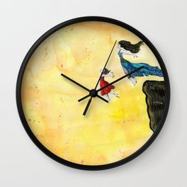 Out Loud & Shame Free Wall Clock