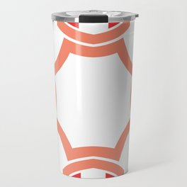 Red four sides Travel Mug