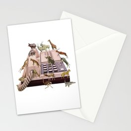 Wild Office Stationery Cards