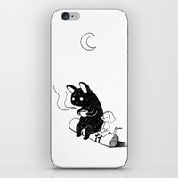camping iPhone & iPod Skins featuring Camping by Freeminds