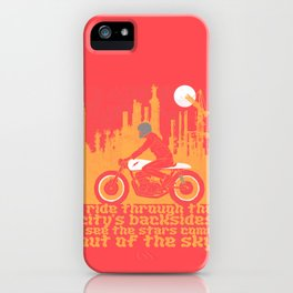 city's backsides iPhone Case