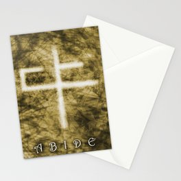 Abide Sepia Stationery Cards