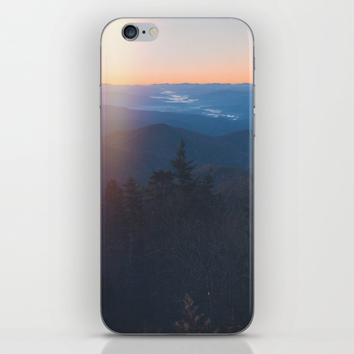 Sunrise in Smoky Mountains National Park iPhone Skin
