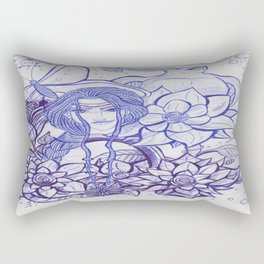 Cover Art_ Ink Concept Sketch Rectangular Pillow