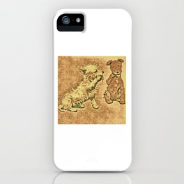 Dogs Large and Small, Ideal for Dog Lovers (30) iPhone Case
