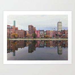 Pink Reflections Art Print