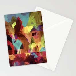 Little old town - modified 3 hours later Stationery Cards