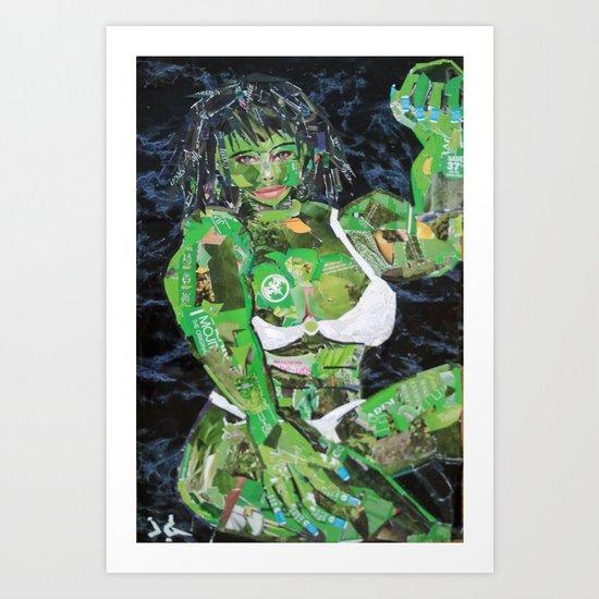 SHE HULK Art Print