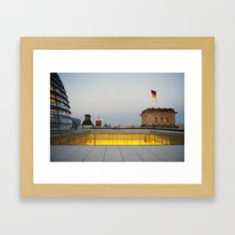 Berlin from the Reichstag Roof Framed Art Print