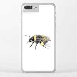 White-tailed bumblebee Clear iPhone Case