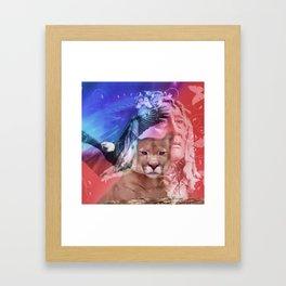 Native American Indian Framed Art Print