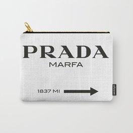 Marfa Gossip Girl art print poster Carry-All Pouch
